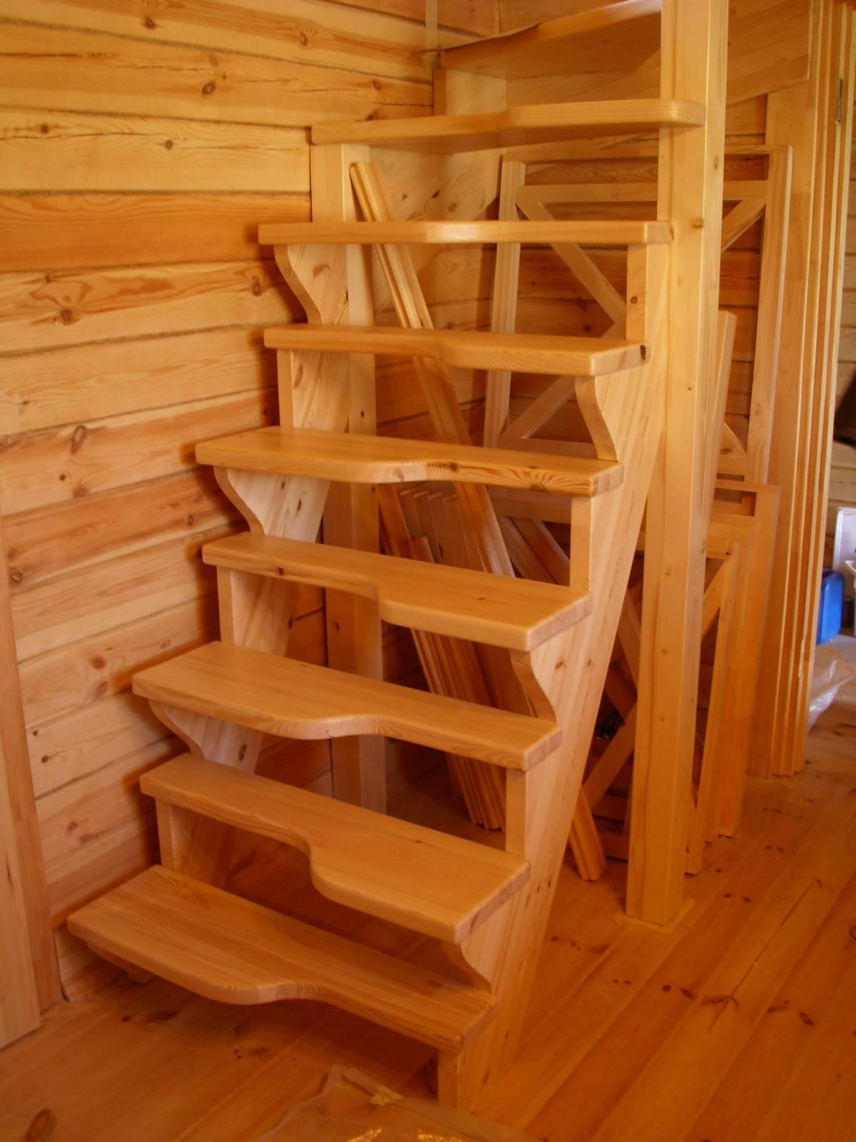 Лестница своими руками и расчет фото