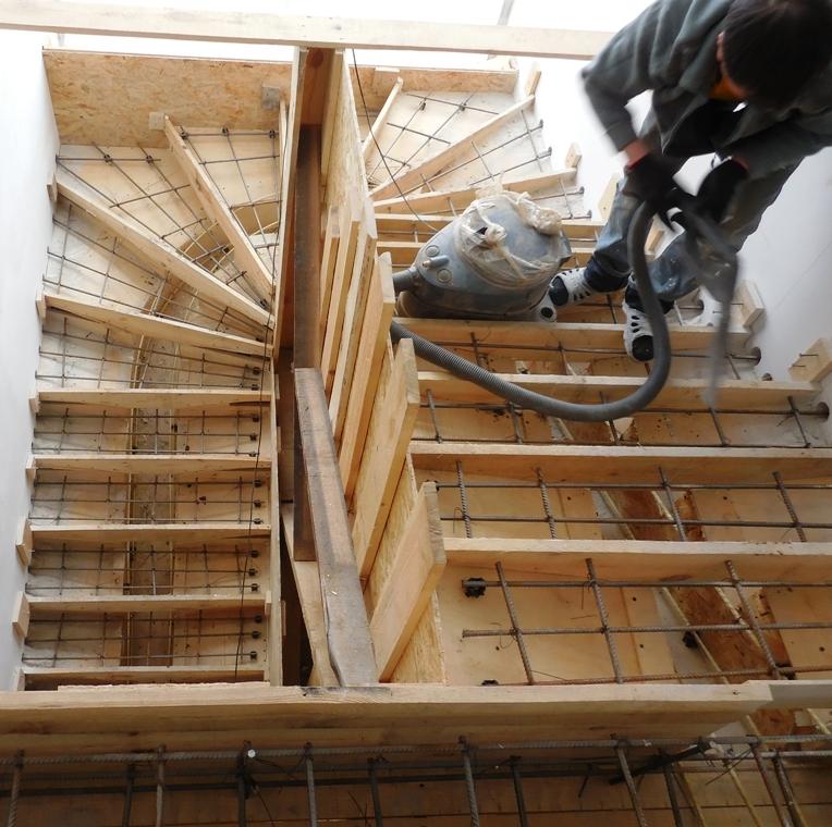 Как сделать опалубку бетонных лестниц 215